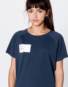 Printed t-shirt - T-shirts - Clothing - Woman - PULL&BEAR Colombia