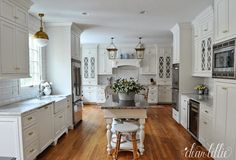 Dear Lillie: A Classic and Timeless White Kitchen