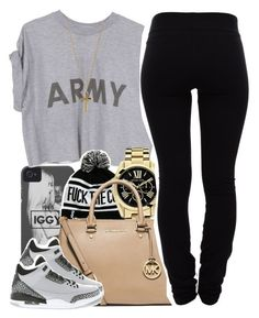 """""""10/26/14"""" by clickk-mee ❤ liked on Polyvore featuring Michael Kors, MICHAEL Michael Kors, Helmut Lang, NIKE and Dorothy Perkins"""