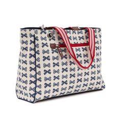 Torba Bramley Tote Navy Bows on Cream Louis Vuitton Speedy Bag, Louis Vuitton Damier, Black White Nursery, Cute Diaper Bags, Nursery Themes, Nursery Ideas, Maternity Wear, Two By Two