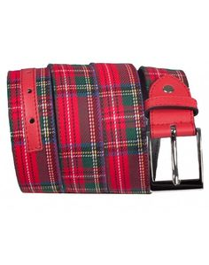 BELT KILT RED
