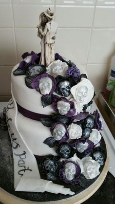 Wedding Cake Til Do Us Part