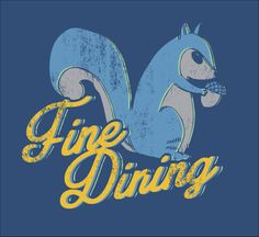 Fine Dining T- Shirt Foodie Fun