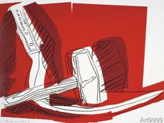 Andy Warhol - Hammer and Sickle, 1977
