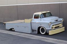 1955 Chevrolet LCF/COE truck, light hauler, duramax diesel, coach built, kustom