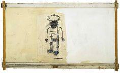Jean-Michel Basquiat, Self Portrait  (1982) on ArtStack #jean-michel-basquiat #art