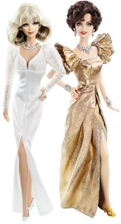 Dynasty Barbie Dolls--KRYSTAL CARRINGTON and ALEXIS COLBY