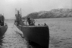 The Soviet submarine SHCH-402 Location: Polyarny, Murmansk oblast , Soviet Union 1943