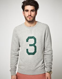 Celebrities who wear, use, or own ASOS Sweatshirt With Cracked Number Print. Also discover the movies, TV shows, and events associated with ASOS Sweatshirt With Cracked Number Print. Asos Sweatshirt, Graphic Sweatshirt, Latest Fashion Clothes, Latest Fashion Trends, Urban Looks, Mens Fleece, Printed Sweatshirts, Asos Online Shopping, Fashion Prints
