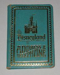 Disneyland Address Book