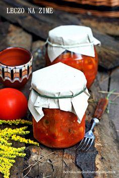 Bernika - mój kulinarny pamiętnik: Leczo na zimę do słoików