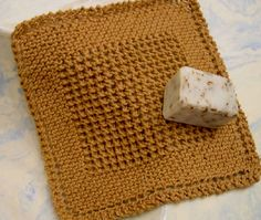 I love Grandmother's Favorite bias-knit dishcloth, but sometimes would like a little pizzazz to keep it interesting. Here's my favorite variation. Solid color, worsted weight cotton or linen and size 6 knitting needles, or size to give a gauge of 4.5 sts per inch in stockinette stitch. By Eloomanator. Find the free PDF dishcloth pattern…