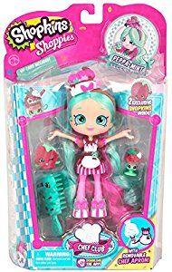 Amazon.com: Shopkins Chef Club Shoppies Season 3 Peppa-Mint Doll: Toys & Games