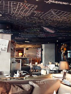 Mama Shelter restaurant, hotel, bar, 109 Rue de Bagnolet 75020 Paris