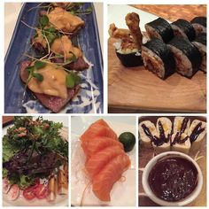 #philippines #manila #food #kaineojapanesecuisine #japanese #beef #tataki #omi #wagyu #uni #seaurchin #friedw#ponzu #microgreens #spiderroll #softshellcrab #maki #salad #pako #prawns #saltedegg #salmon #sashimi #dessert #mango #coconut #crepe #chocolate by khooleonie