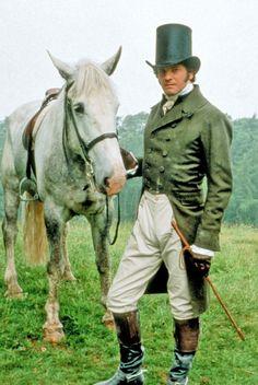 Colin Firth as Mr Darcy in Pride and Prejudice