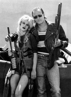 Juliette Lewis and Woody Harrelson in Natural Born Killers | 1994