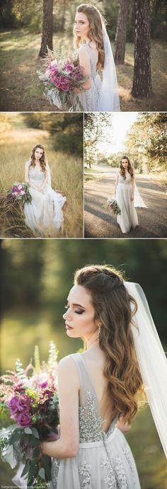 Austin Wedding Photographer Lavendar Bridal Shoot