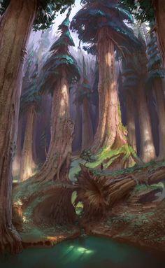 Highlands forest, Sam Nielson