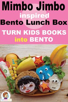 Turn your kids' favorite books into a bento lunch box! Get some ideas, tips and inspiration how to make a awesome school lunch box. Dinners For Kids, Kids Meals, Healthy Lunches For Kids, Healthy Snacks, School Lunch Menu, Fun Foods To Make, Cool Lunch Boxes, Bento Box Lunch, Food Humor