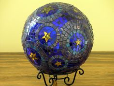 MOSAIC GAZING BALL 2