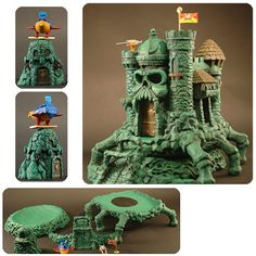 Masters of the Universe Castle Grayskull Accessory Kit - Icon Heroes - Masters of the Universe - Statues at Entertainment Earth