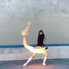 A better Gogo Yubari - Rope Dart, Bo Staff, Self Defense Women, Martial Arts Techniques, Martial Arts Workout, Estilo Anime, Uma Thurman, What Can I Do, Black Mamba