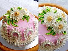"""УКРАШЕНИЕ ТОРТОВ, ТОРТ """"ПАВЛИН"""" от SWEET BEAUTY СЛАДКАЯ КРАСОТА, Cake decoration - YouTube Buttercream Flowers, Buttercream Cake, Tuxedo Cake, Wilton Cake Decorating, Pear Recipes, Wilton Cakes, Cereal Recipes, Fancy Cakes, Cake Mold"""