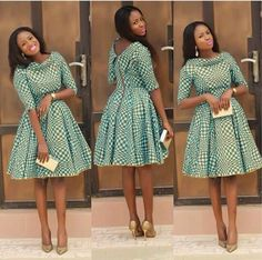Top Ten Creative Ankara Styles You Should Try In 2017 - DabonkeFacebookTwitterEmail AppPinterestAddthis