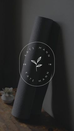 A simple and cosy logo design with a rustic font and playful illustration. The post A simple and cosy logo design with a rustic font and playful illustration. Femin& appeared first on Design. Self Branding, Logo Branding, Branding Design, Branding Process, Brand Identity, Dj Logo, Cafe Logo, Logo Inspiration, Yoga Logo