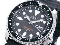 SEIKO Diver SKX007J1 Rubber Automatic Diver Watch Orologio 200m Japan Made