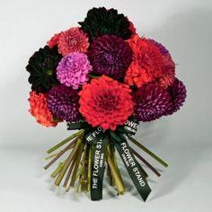 Dahlia Bouquet - Just Dahlias in various Colours.