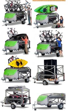 Kayak Camping Hacks The most versatile camper, hauler, bike rack, and kayak accessory you will ever need. Kayaking Gear, Kayak Camping, Canoe And Kayak, Kayak Fishing, Camping Hacks, Camping Trailers, Diy Camping, Saltwater Fishing, Camping Ideas