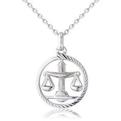 Womens So Jewellery's Zodiac Libra Pendant ($60) ❤ liked on Polyvore featuring jewelry, pendants, necklaces, accessories, silver, silver jewelry, silver charm pendant, silver pendant jewelry, silver jewellery and silver pendant