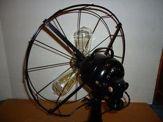 Beautiful Re Purposed Vintage Diehi Electric Fan by thesummerplace