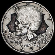 Seth Basista Engraved Coin