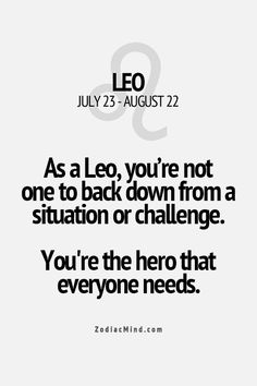 this is so true. I'm not usually one to fall for these zodiac descriptions but I'm reading other ones than leo and they don't match up. Leo Zodiac Facts, Zodiac Mind, Leo Horoscope, Astrology Leo, Leo Quotes, Zodiac Quotes, Funny Quotes, Leo Lion, All About Leo