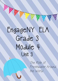 I have taken the EngageNY ELA Module 4 and I have recreated it to make it more teacher and student friendly. This packet includes all of the student handouts needed for unit 3.