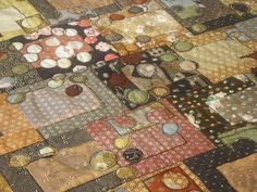Pebble Beach #3  by helen richards quilts, via Flickr