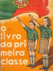 O livro da primeira classe( mocidade portuguesa-estado novo)