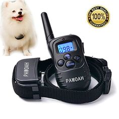 Dog Training Collar for Small Medium Large Dogs15100bls  Rechargeable Remote  Rainproof Receiver 330 Yards BeepVibrationShock Modes  Training eBook ** Want additional info? Click on the image. #commentback