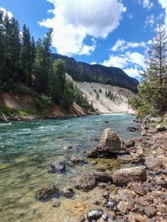 Seven Mile Hole, Yellowstone National Park