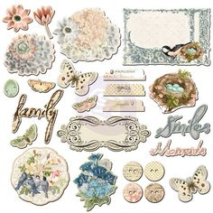 Chipboard Pieces Fairy Belle - Chipboard - Embellishments - Shop Products - Store