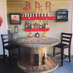 Patio bar