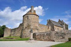 Château de St-Sauveur-le-Vicomte - Manche by Philippe_28, via Flickr