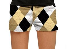Womens BarGuile Mega Made To Order Mini Shorts by Loudmouth Golf.  Buy it @ ReadyGolf.com