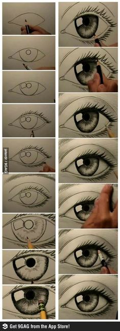 How to draw a realistic eye                                                                                                                                                                                 More