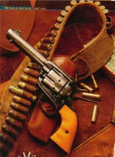 One of Dukes 45's   note the 45/70 Cartridge in belt......paraphrasing but its been said to let the shooter know how many cartridges they had left