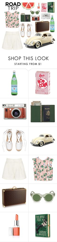 """""""Italian road trip! 🇮🇹"""" by xmoonagedaydreamx ❤ liked on Polyvore featuring Lomography, Royce Leather, Bburago, Apiece Apart, MANGO, Marc Jacobs, Clinique, GetTheLook, Summer and Italy"""