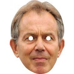 Tony Blair Celebrity Face Mask 951